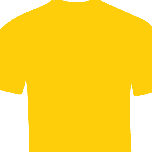Camiseta amarillo