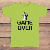 Camiseta despedida de solteros Game over
