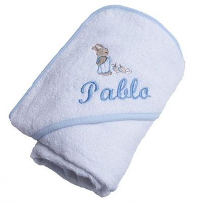 Capa de ba o personalizada - Capas de bano bebe personalizadas ...
