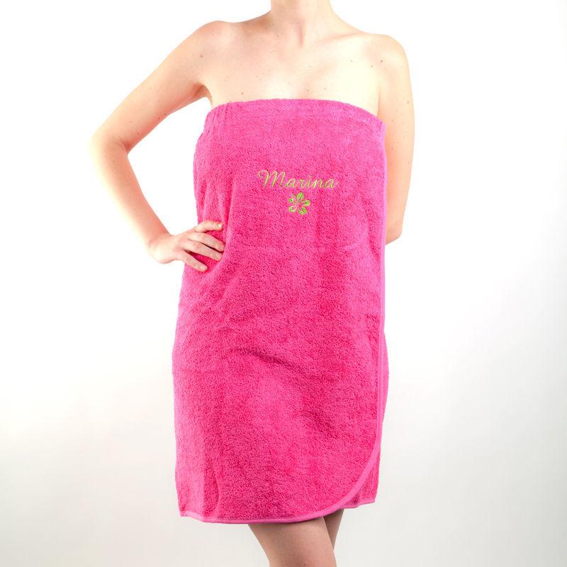Toalla pareo personalizado for Colgador de toalla para bano