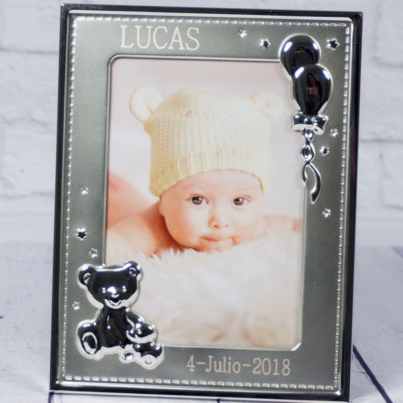 Otros Personalizado De Bebé Primera Navidad Marco Fotos Fotografías Para Nombre