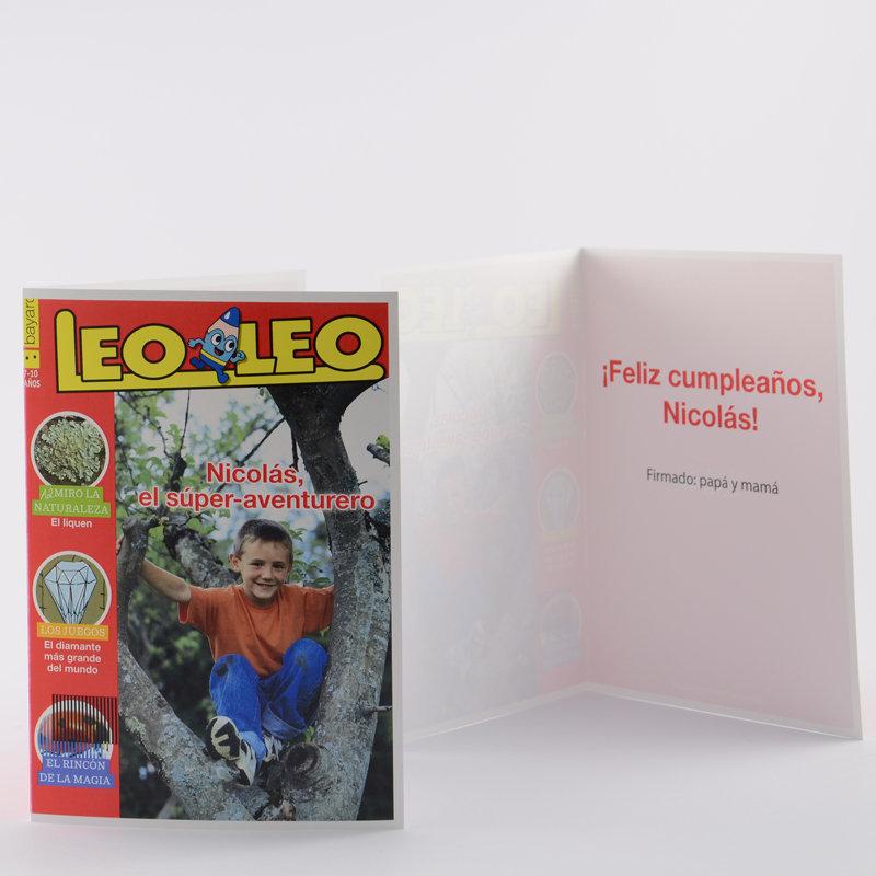 Revistas para ni os de 7 a 10 a os con tarjeta - Cumpleanos para ninos de 10 anos ...