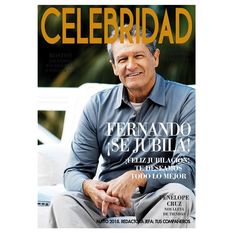 Falsa Portada De Revista Jubilación