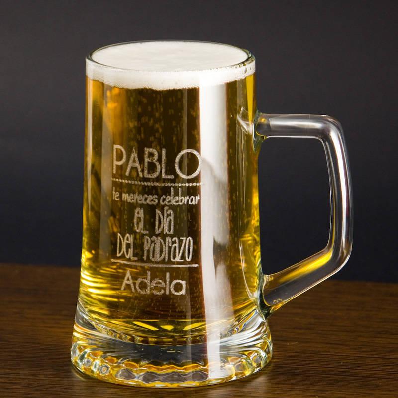 Jarra de cerveza divertida para d a del padre for Jarras para cerveza