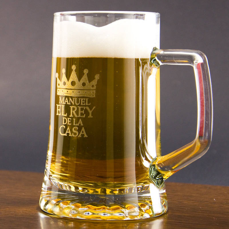 Jarra de cerveza el rey de la casa for Jarras para cerveza