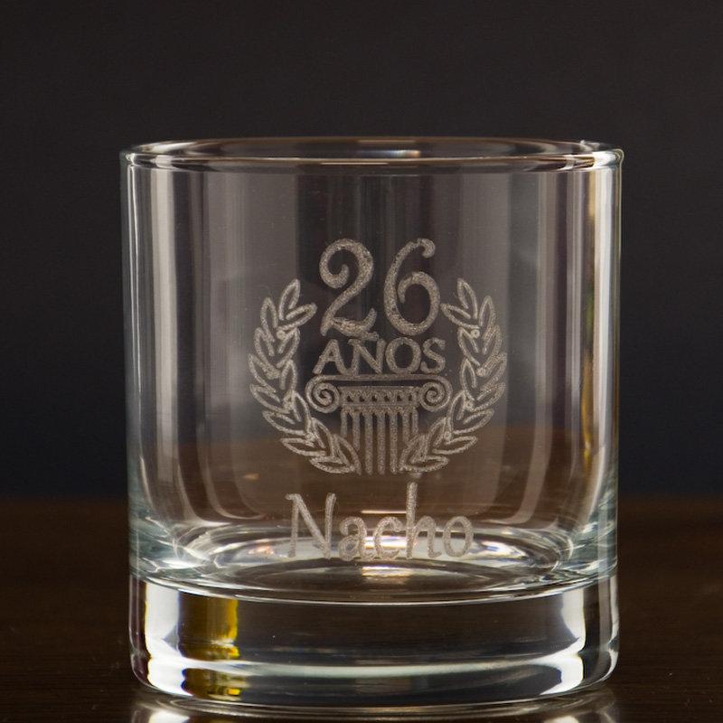 Vaso de whisky grabado para cumplea os - Vasos para cumpleanos infantiles ...