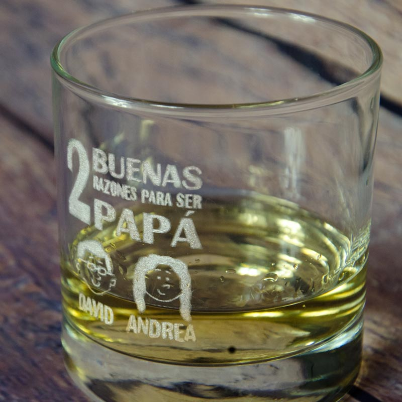 Ideas de cristaler a personalizada vasos grabados for Copas para whisky