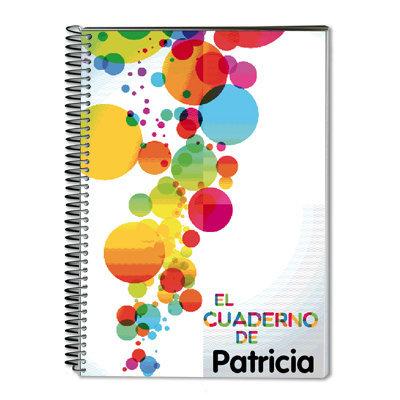 Cuaderno globos de colores