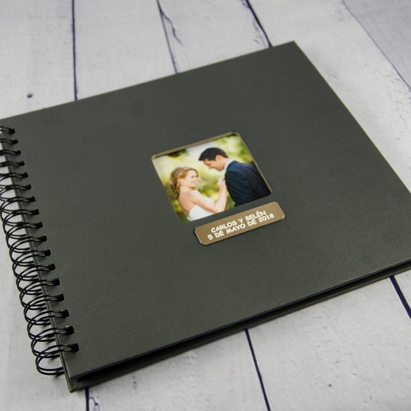 Lbum de fotos grabado para boda - Album de fotos ...