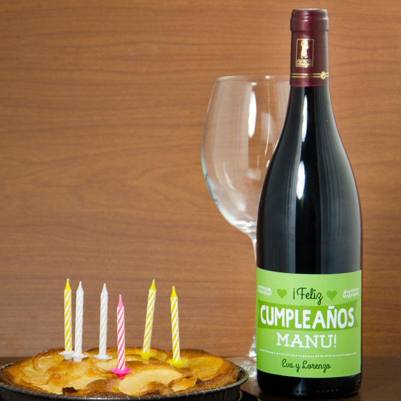 Botella de vino para cumplea os hombre for Regalos diferentes para hombres