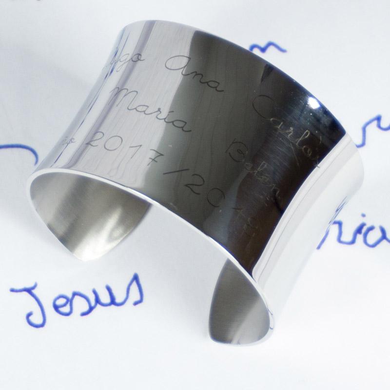 3581fd00310a Joyas personalizadas  pulseras grabadas