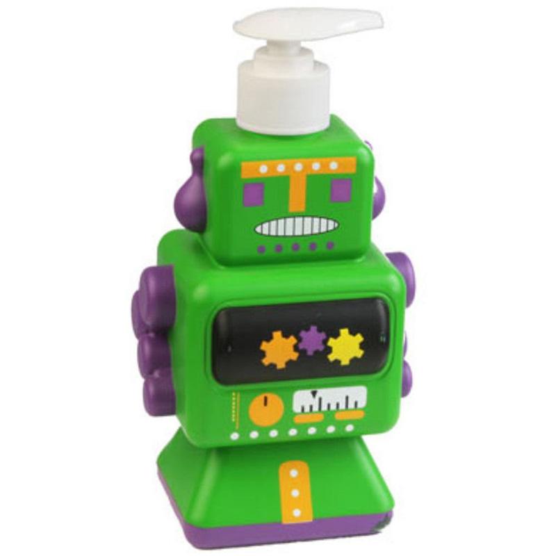 Dispensador De Jab N Infantil Robot