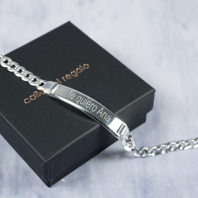 b192e3e10c99 Regalos personalizados Joyas personalizadas  Esclava de plata para mujer