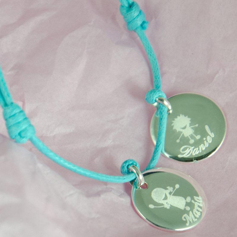 05e3768dfc4b Regalos personalizados Joyas personalizadas  Pulsera medallas personalizada