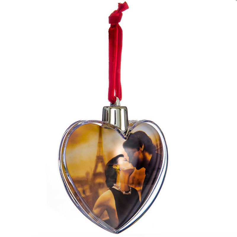 regalos diseo y decoracin bola de navidad forma de corazn