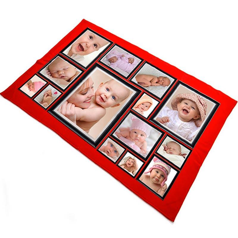 Manta polar personalizada con fotos - Mantas con fotos ...