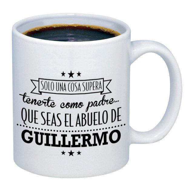 Taza personalizada para el mejor padre y abuelo for Decoracion con tazas de cafe