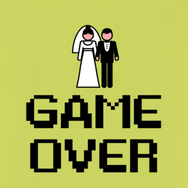 Camiseta Despedida De Solteros Game Over