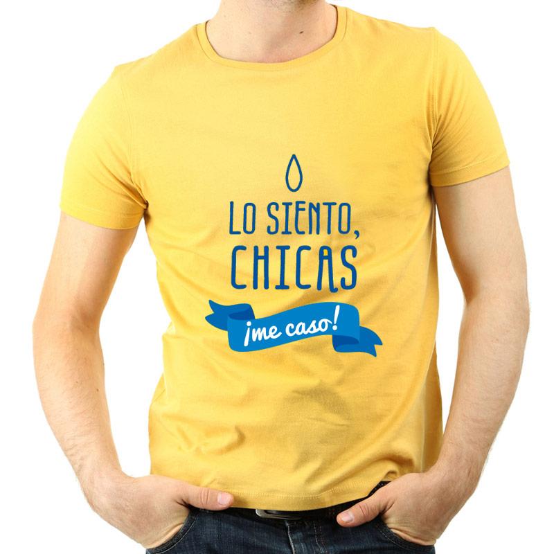 babafa8d7 Regalos personalizados Regalos con nombre  Camiseta despedida de solteros  ¡Me caso!