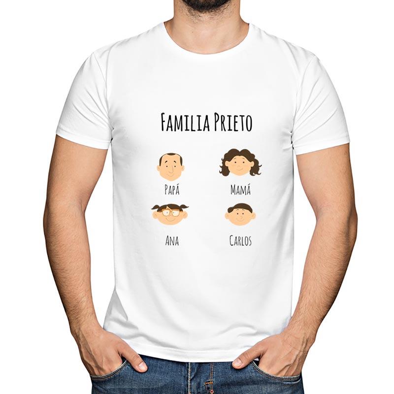 compra original nuevo estilo de vida primer nivel Camiseta familia personalizada
