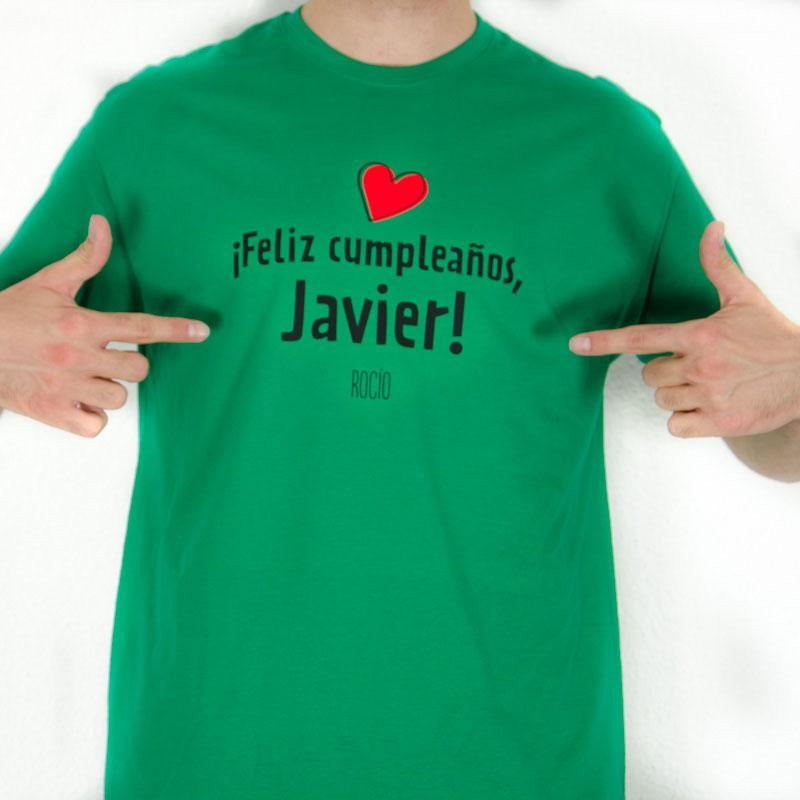 Camiseta Feliz Cumpleanos Hombre
