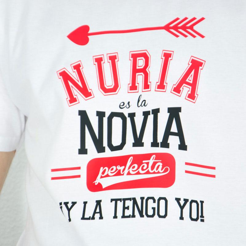 Camiseta Novia Perfecta Personalizada