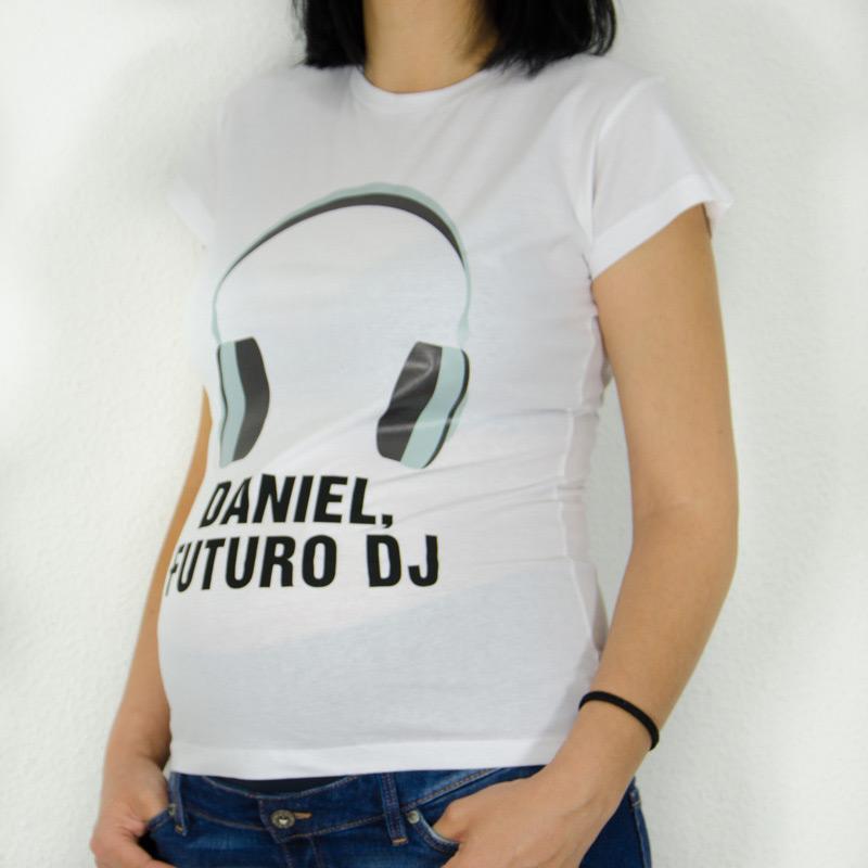 0ecf63244 Camiseta personalizada futuro dj