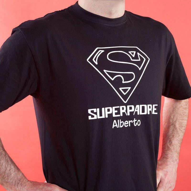 Calledelregalo Camiseta Personalizada 'Superpadre' - Regalo Para el Día del Padre n52dtQZ1g