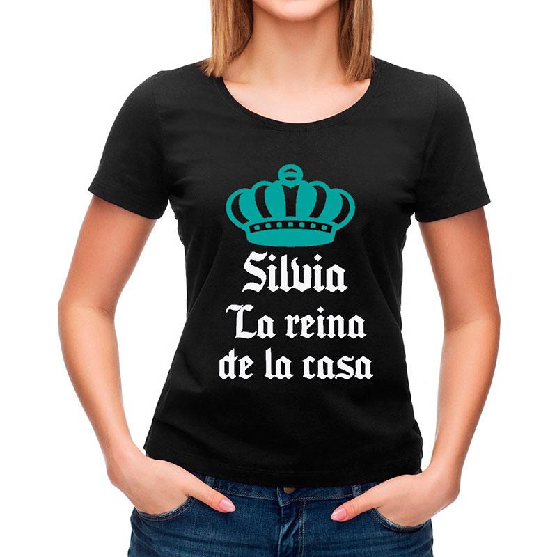 Camiseta reina de la casa personalizada - Regalos originales para la casa ...
