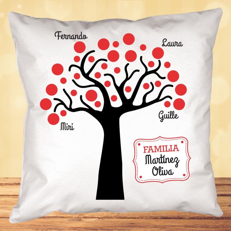 Cojín Personalizado árbol Familiar