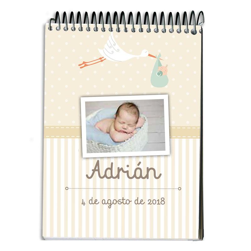 0192d5bd125 Regalos personalizados Cuadernos: Libreta personalizada para regalar en  bautizo