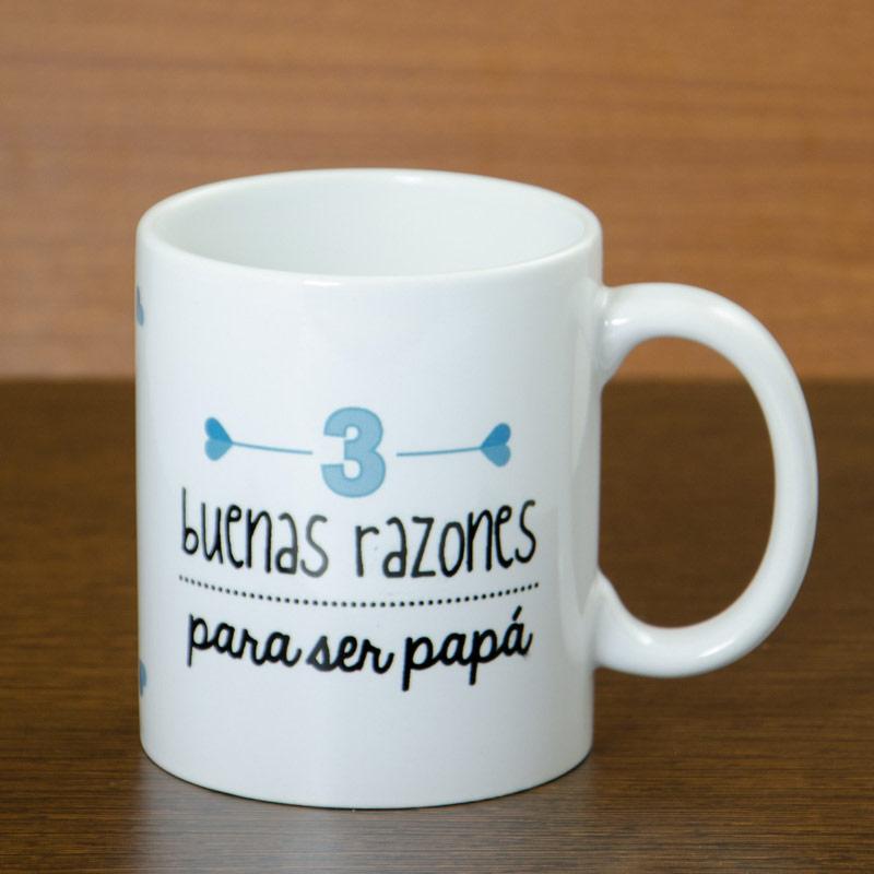 Taza razones para ser pap for Regalos para mi padre
