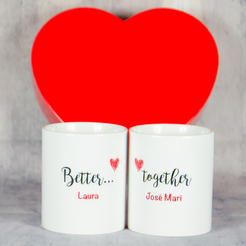 Pack de tazas Better Together