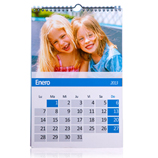 Regalos 15 - 30 €: Calendario de pared Din A3 personalizado