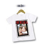 Regalos Textiles foto: Camiseta divertida 'Wanted' con foto