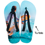 Regalos 15 - 30 €: Chanclas de playa con foto